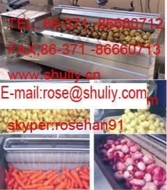 carrot peeler/potato and carrot peeling machine/washing machine