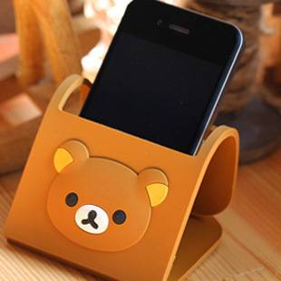 Rubber Folding Mobile Phone Holders & Stands
