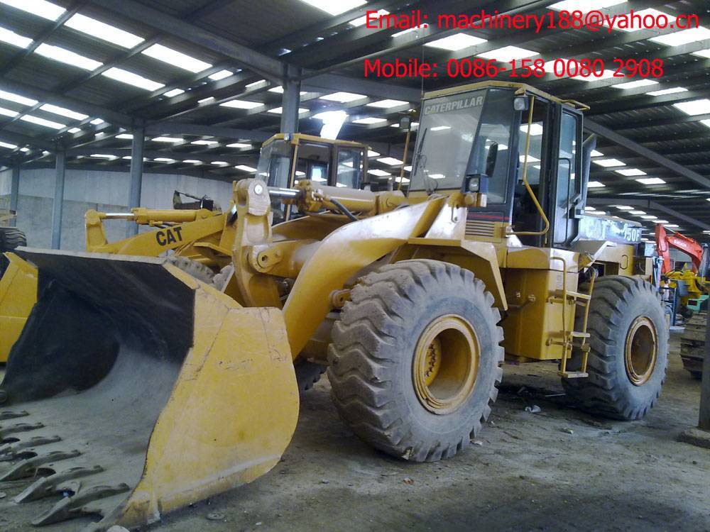 Used wheel loaders Cat 950F
