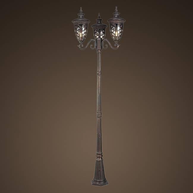 On Sales 3 head European Garden Light(SG0518-3-M)