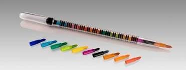 Buy 10 colour pencil with cap