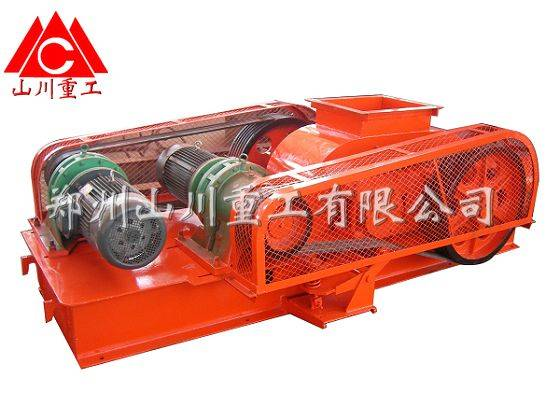 Vertical composition crusher