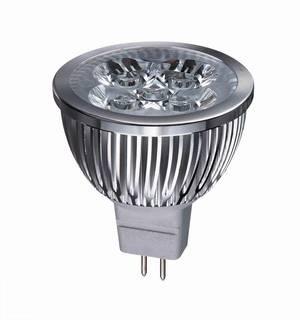 4W GU10/E27/MR16 LED Spotlight