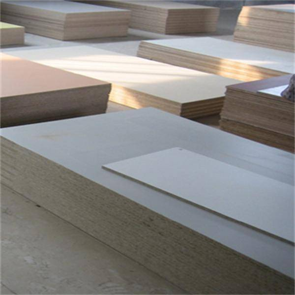 12202440mm melamine faced chipboard/flakeboard factory