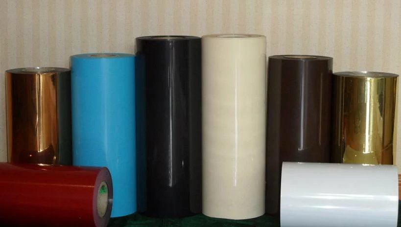 Colored biaxial Oriented Polystyrene OPS film