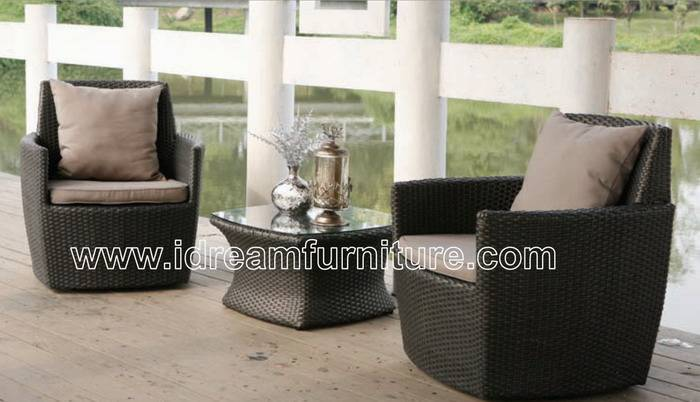 rattan outdoor furniture / garden furniture chair and table