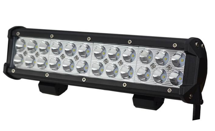 CREE 72W led work light driving light off road light bar IP67 outdoor use long time aluminium