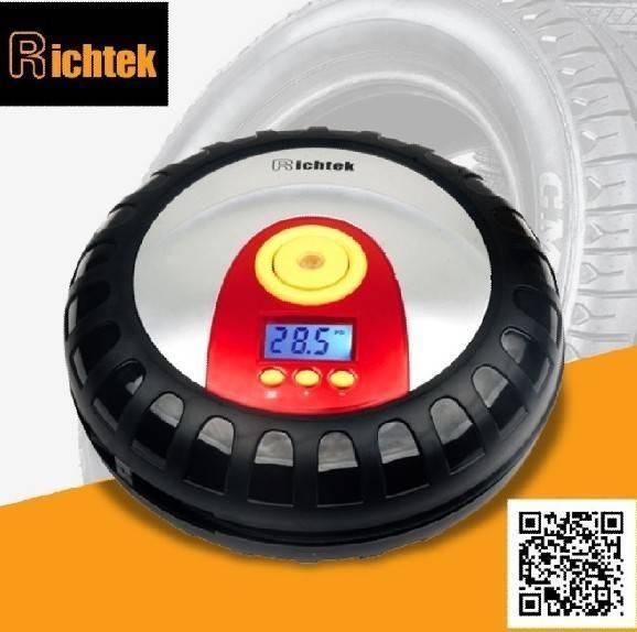 tyre shape car air compressor/digital car air compressor with 50% price down