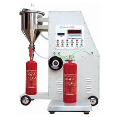 Automatic type fire extinguisher powder filler technical