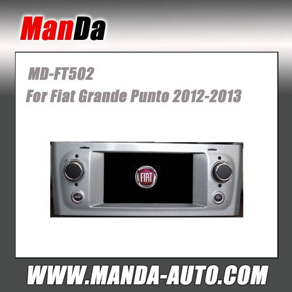 Manda car gps for Fiat Grande Punto 2012-2013 in-dash head unit touch screen dvd gps automobiles