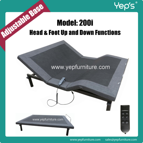 American Style Electric Adjustable Bed Base