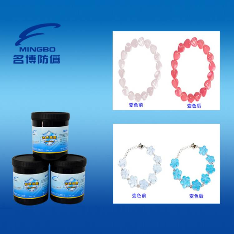 Solar discoloration ink for screen printing ink