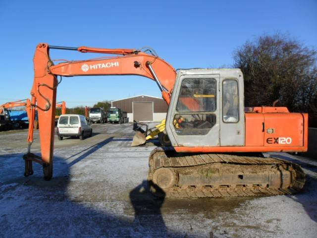 EX100,EX120,Used,Hitachi,Excavator.