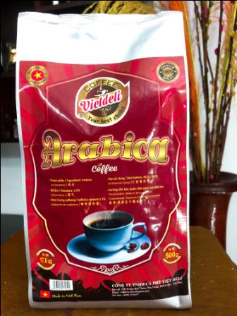 Sell ARABICA ROBUSTA ROASTED COFFEE BEANS - Viet Deli Coffee Co., Ltd