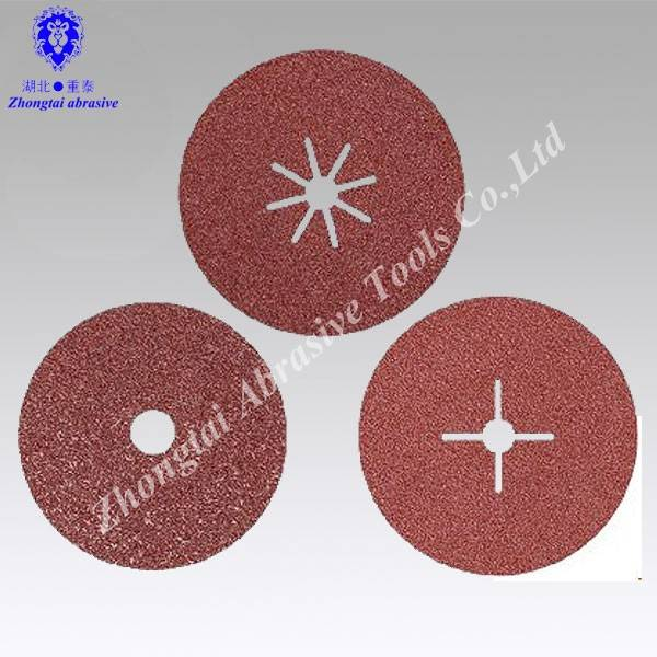 OEM Aluminum oxide fiber disc with different hole
