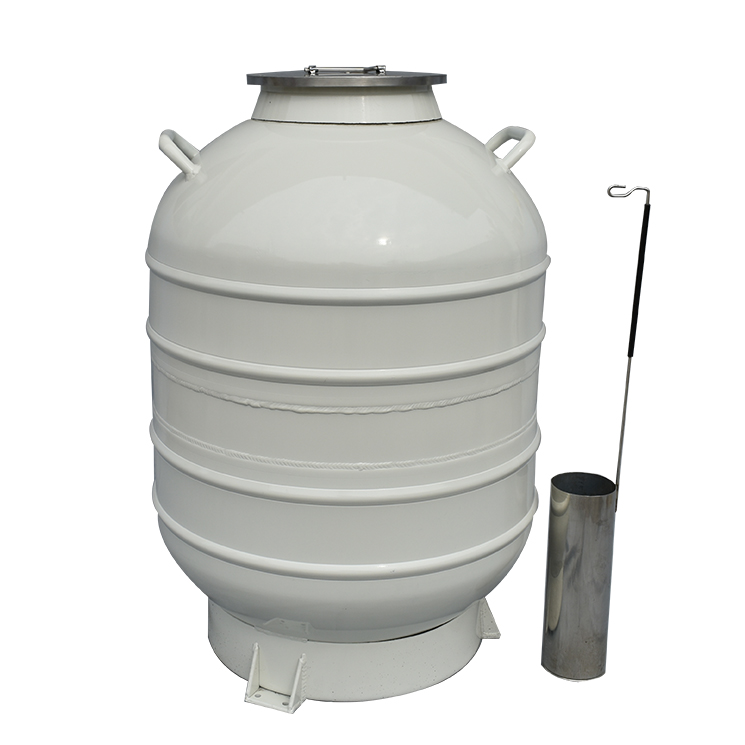 liquid nitrogen dewar container can with Wide open mouth