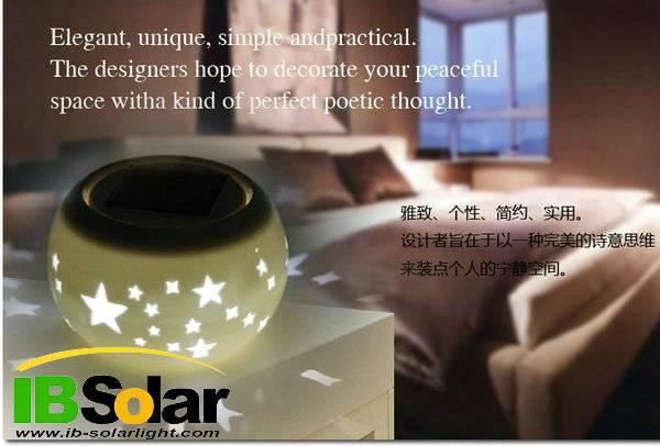 Wholesale hot sales led spot lighting solar garden light solar jar light supplier