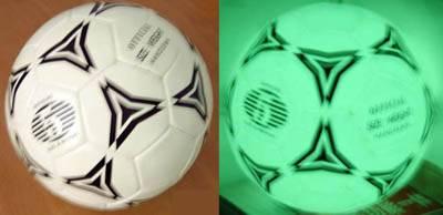 luminescent football