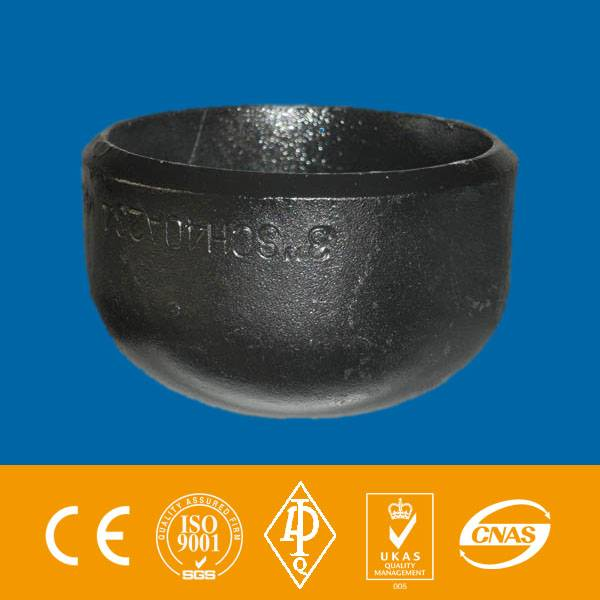 ASTM A234 WPB seamless carbon steel cap