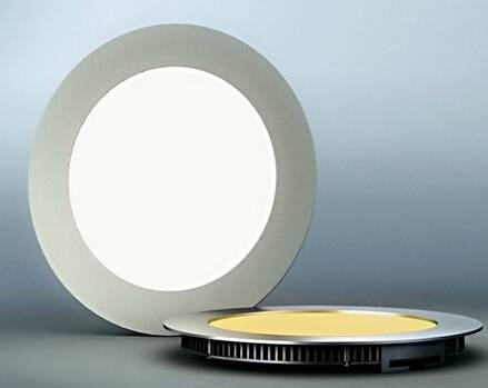 Round shape led panel light