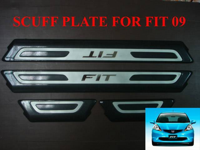 SCUFF PLATE HONDA NEW FIT 09 (GE JDM)