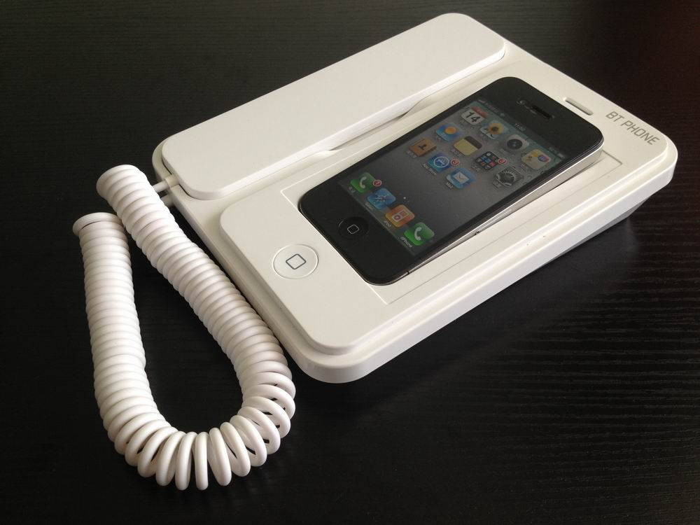 The World's First One iPhone4/4S Bluetooth Telephone