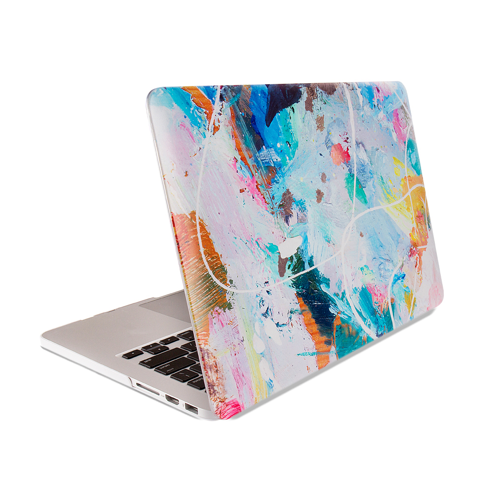Leopard&Flag&Flower&Glow Matte Cover Case Beautiful Smart Shell Case For Macbook Air Pro Retina 11 1