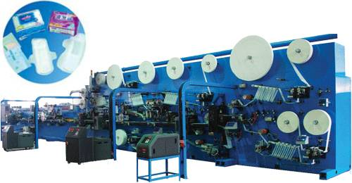 Women Sanitary Napkin Production Line