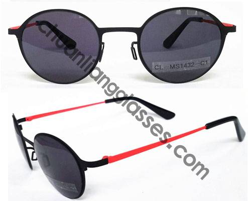 Super elastic stainless steel sunglasses