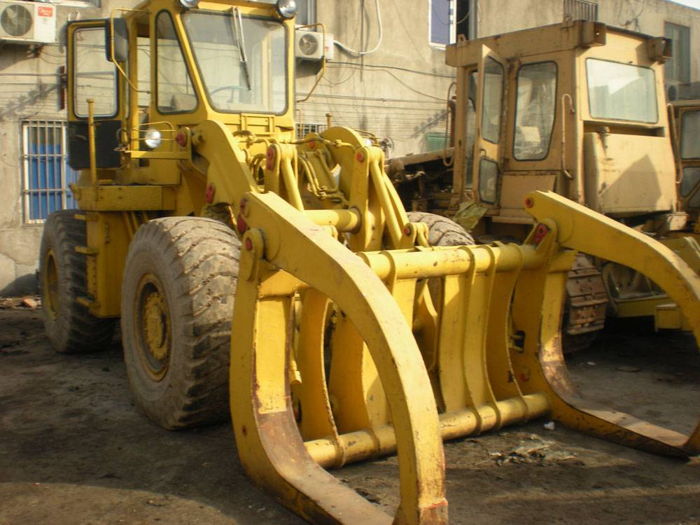 Used KAWASAKI KLD70 Wheel Loader grapple