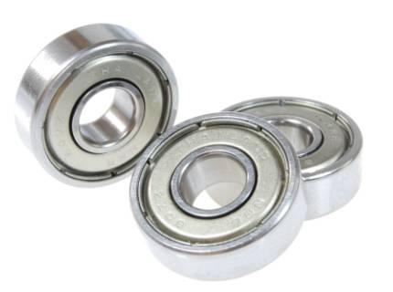 skateboard rubber shielded ball bearing 608zz 8227mm
