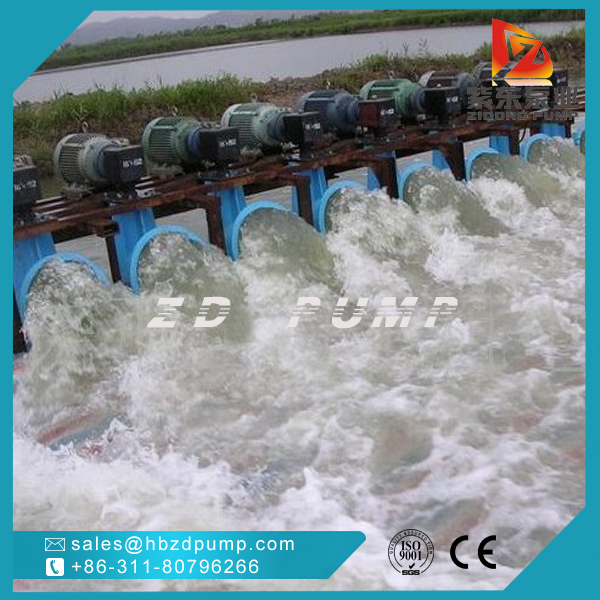 agricultural vertical propeller pump submersible axial flow pump