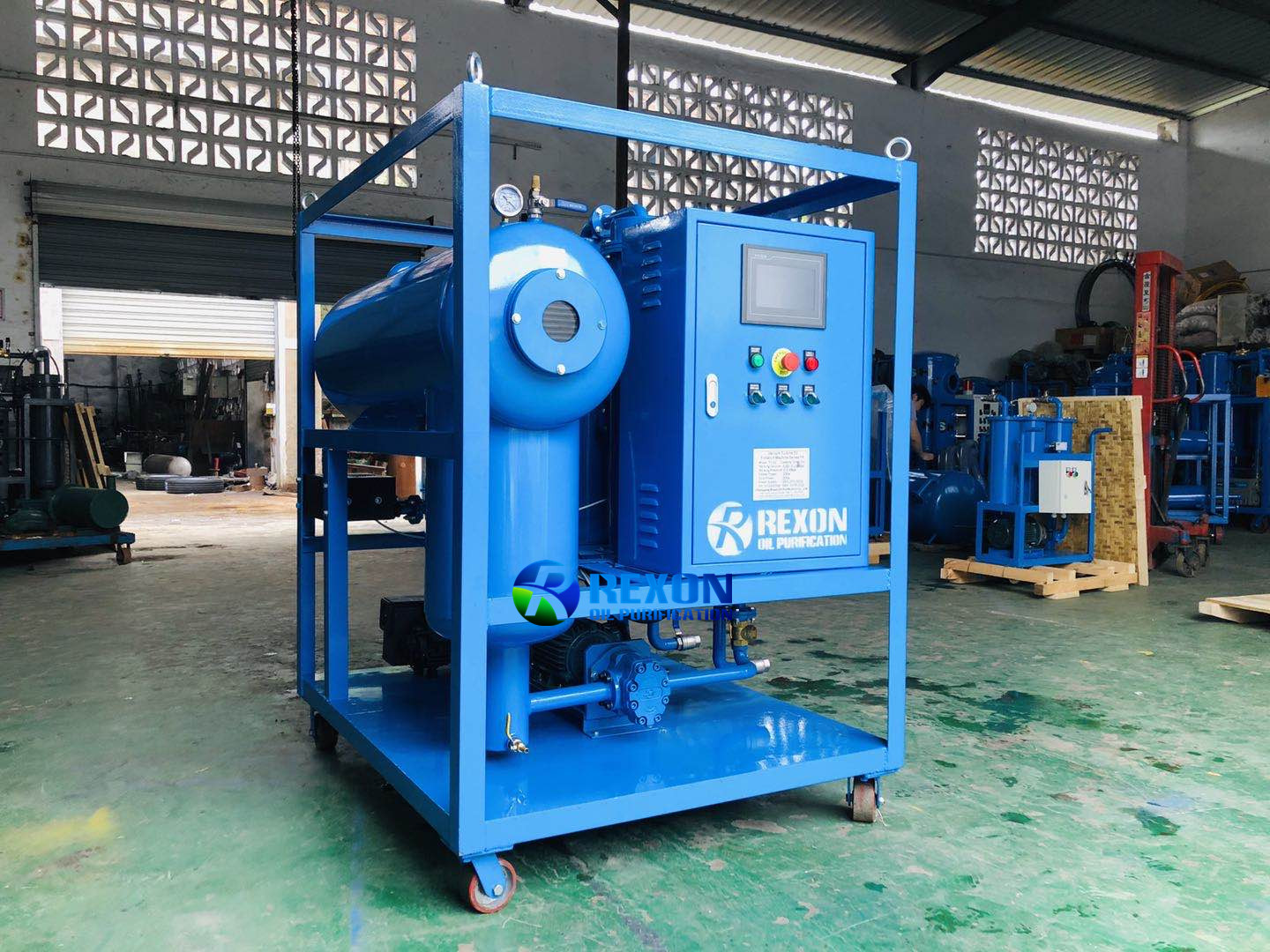 Upgrade Type Automatic Turbine Oil Purifier Machine Oil Filtration System