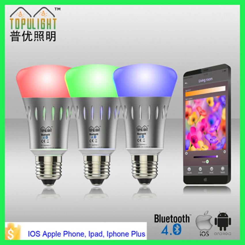 color changing smart LED bulb for IOS, ANDROID system