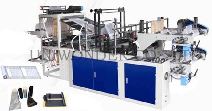 UW-VB Series Microcomputer Control High Speed Vest Bag Making Machine