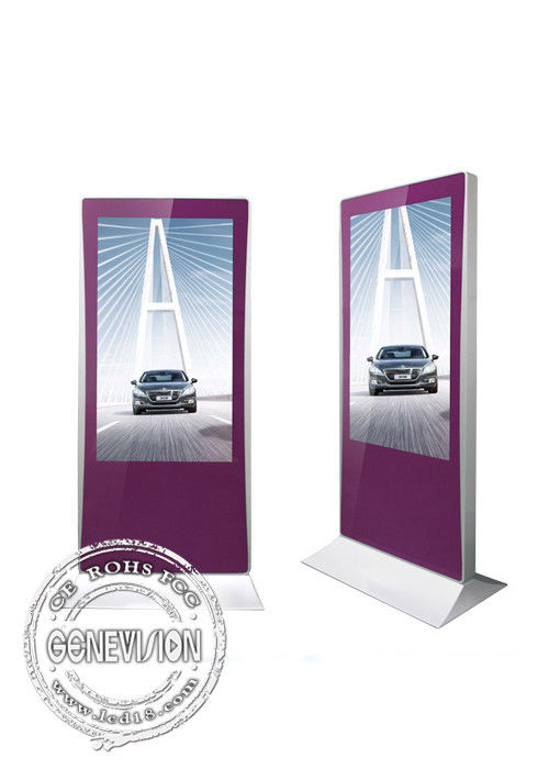 hotsale 55inch Touch Kiosk Industrial Advertising Display digital signage