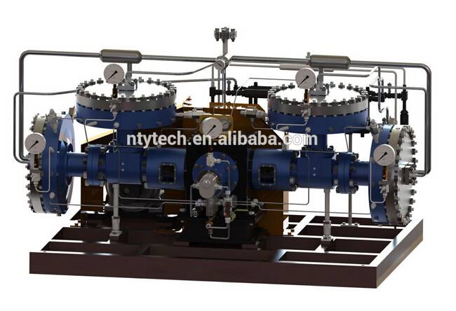 Vinylacetylene Rare Gas 40Nm3/h Flow Rate Diaphragm Compressor