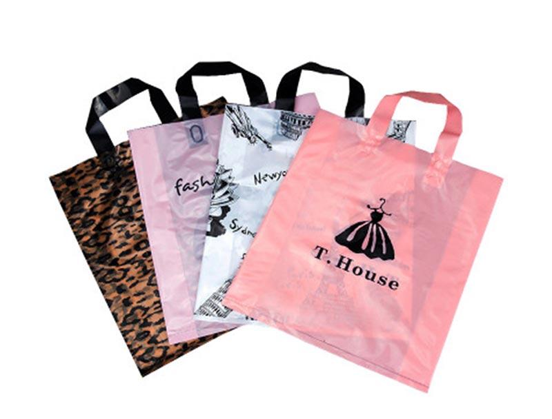 Shopping bag plastic cloth bag promotion gift