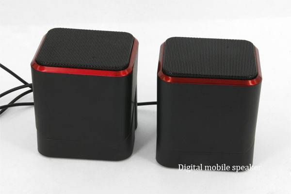 Computer speakers, gorgeous color, brings you a different feeling