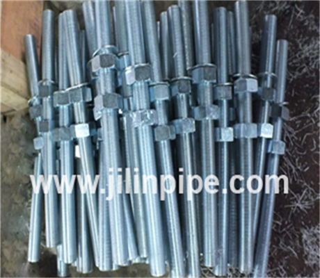 Bolts and nuts, threaded rods for ductile iron pipe fittings and joints
