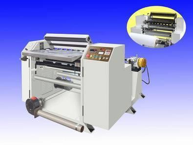 Small Bobbin Thermal Roll Slitting Rewinding Machine