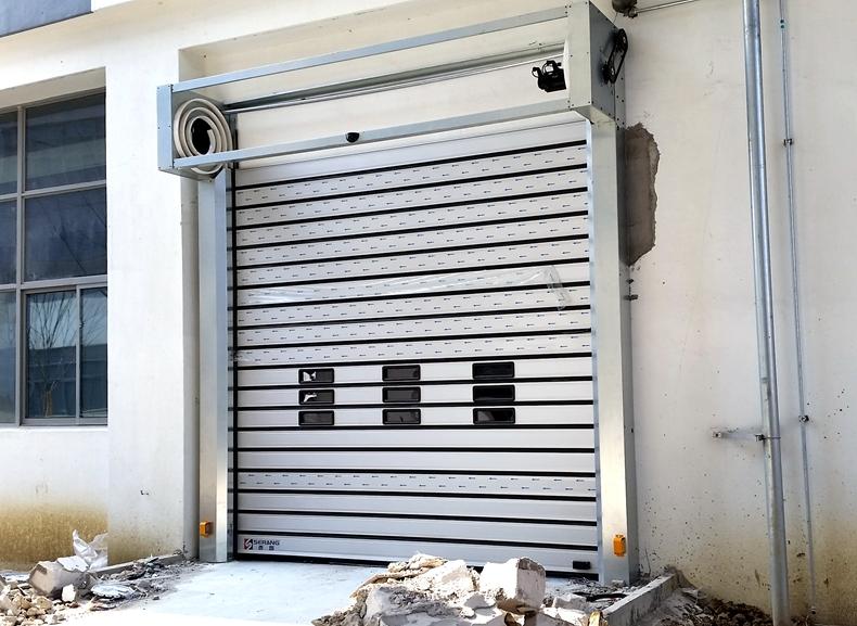 high speed metal door