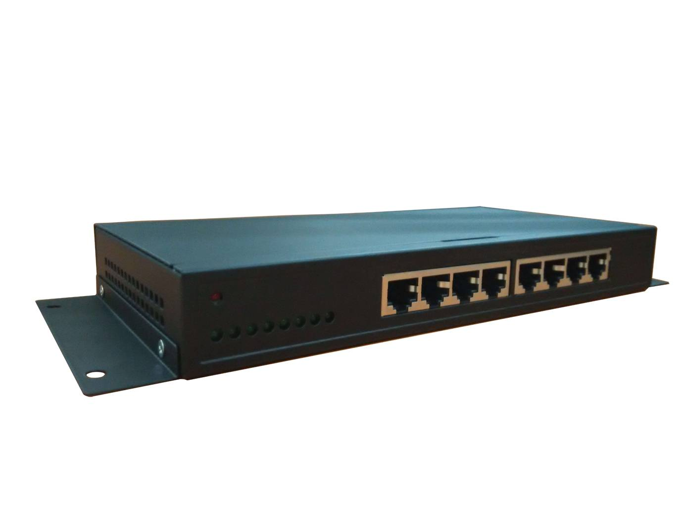 8 ports 19 rack-mountable 10/100M Ethernet Switch with EEE Green Power technology