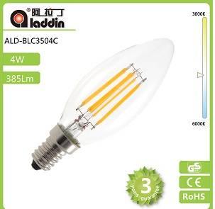 2014 alibaba best seller hot sale led filament bulb 3w