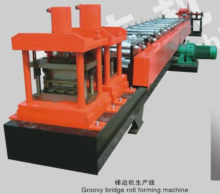 cable bridge forming machine