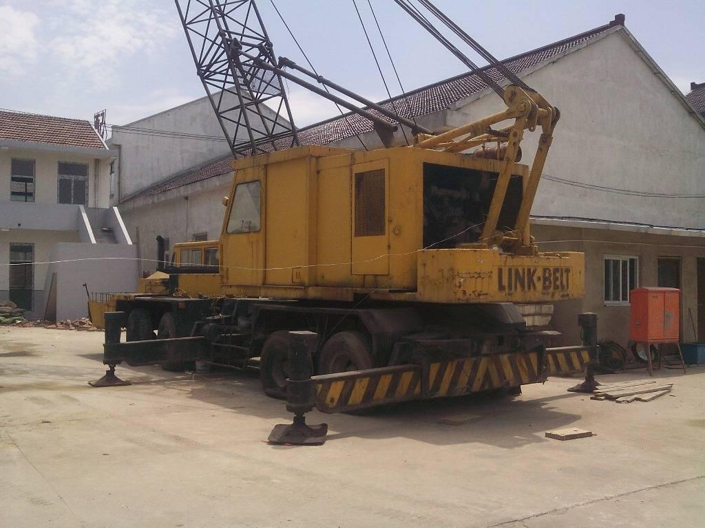 used LinkBelt 35T lattic boom truck crane