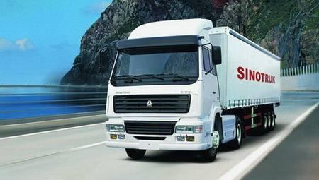 sinotruk howo 4x2tractor truck