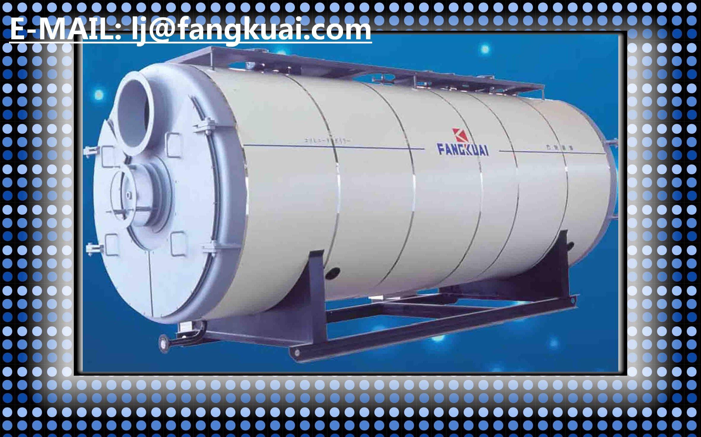 industrial using hot water boiler