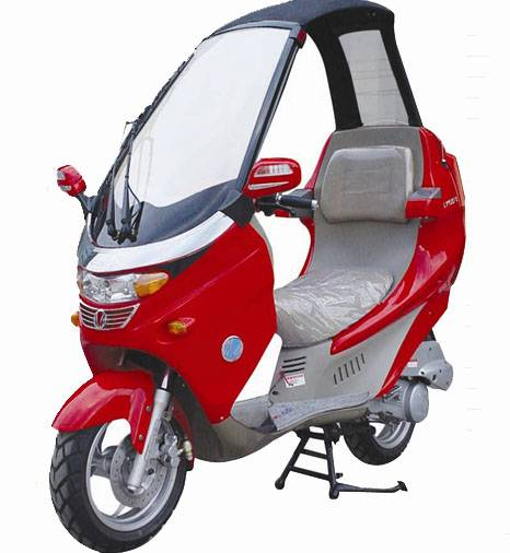 EEC Approved 125cc Scooter with Coping, 150cc Available