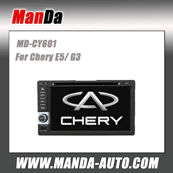Manda 2 din car audio for Chery E5/ G3 in-dash sat nav touch screen dvd gps factory navigation